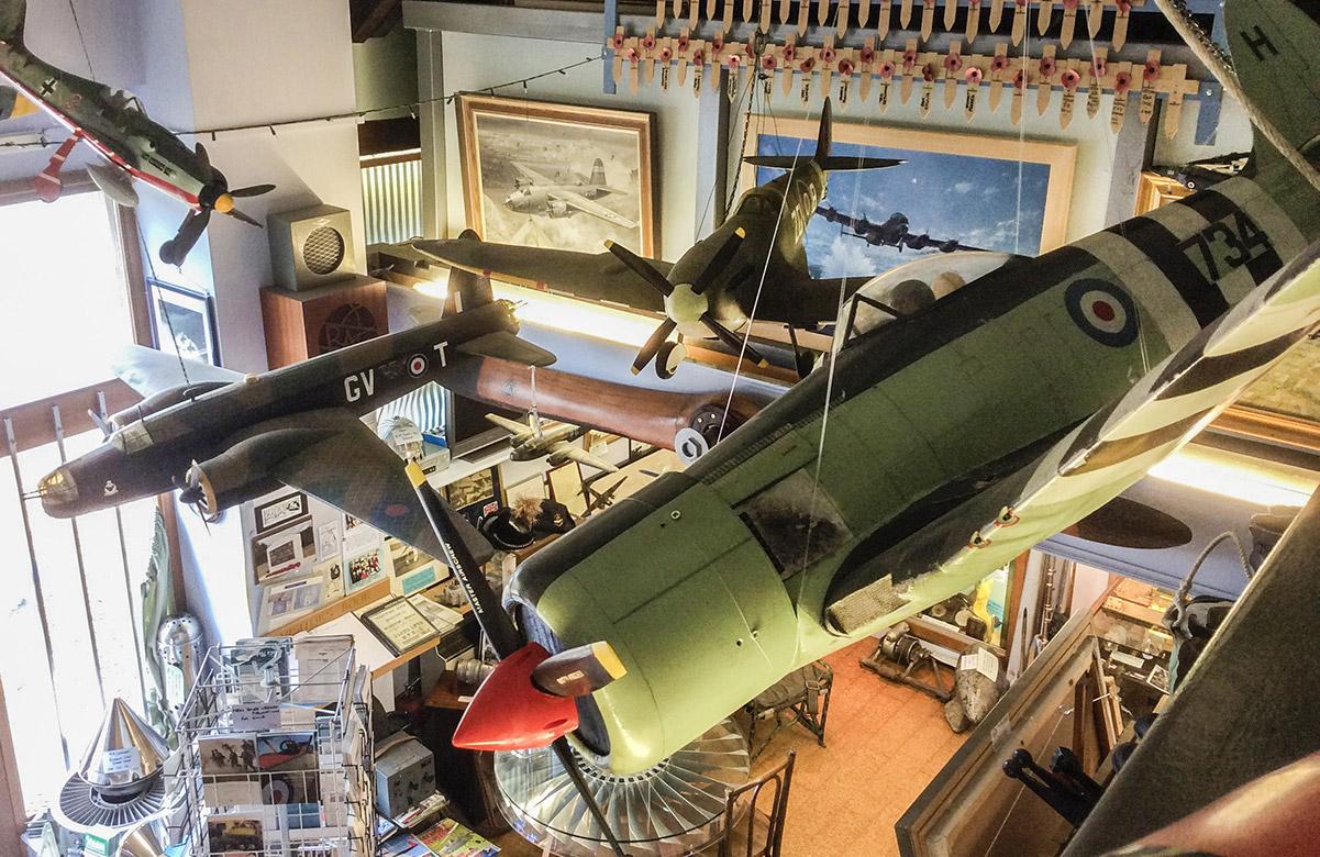 Wellington Museum interior