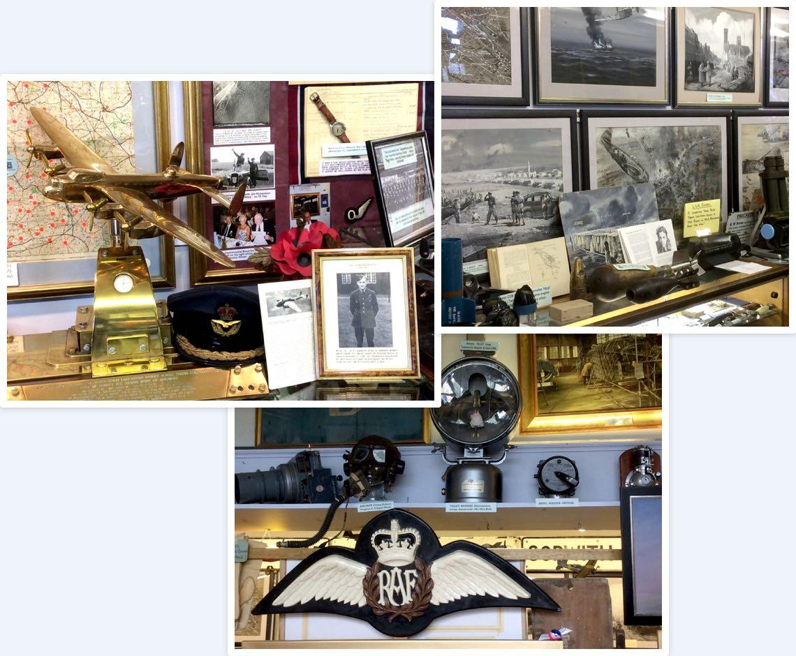 Wellington Aviation Museum exhibits